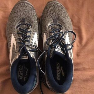 Brooks ghost running shoes blue